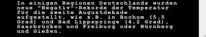 WDR-Videotexr vom 11.8.2016, Seite 171. Quelle:
